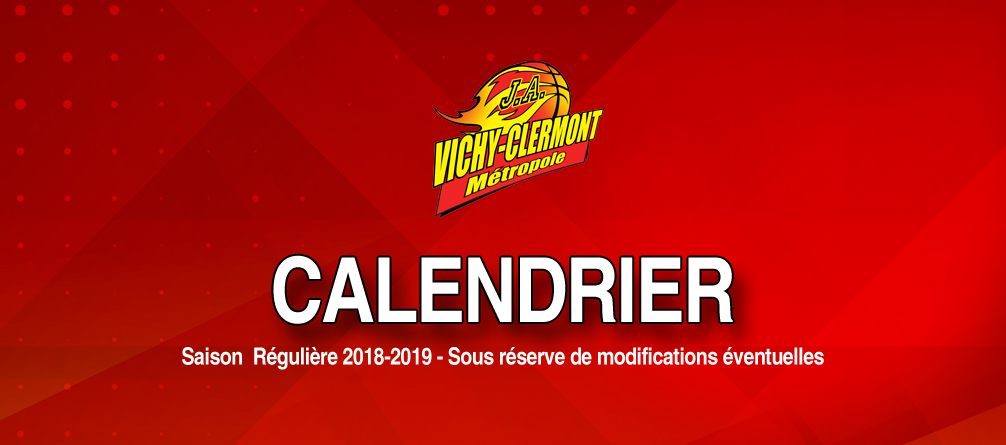Elan Chalon Calendrier.Calendrier Complet 2018 2019