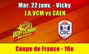 Billetterie JAVCM vs Caen Coupe de France 16e